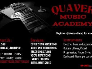 Best music class in jabalpur | best recording studio in jabalpur | Quaver music class|