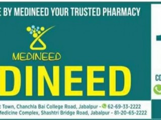 Medicines at Home in Jabalpur | Best Medical Store in Wright Town Jabalpur | MEDINEED Jabalpur