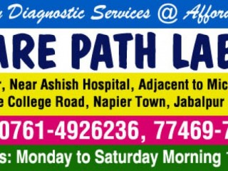 Care path labs in jabalpur | blood collection, blood test centre in jabalpur | diagnostic centre in jabalpur | pathology centre in jabalpur