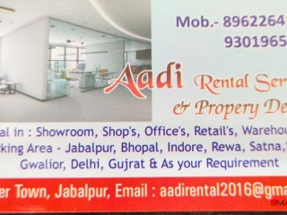 Best consultant for commercial property in jabalpur | Best consultant for residential property in jabalpur | Aadi rental service & property dealer
