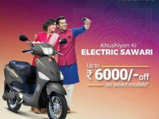 Hero Electric in vijaynagar Jabalpur | e bike e scooter Electric Bike in Jabalpur | Happy mart in jabalpur