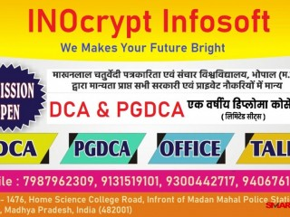 Best Computer Institute in Jabalpur | DCA in Jabalpur | PGDCA in Jabalpur | Best Computer Classes in Jabalpur| Inocrypt Infosoft