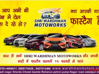 Mahindra first choice in jabalpur| best 24*7 any car service center in jabalpur| home pick up & drop car service in jabalpur| Shri Wardhman Motoworks