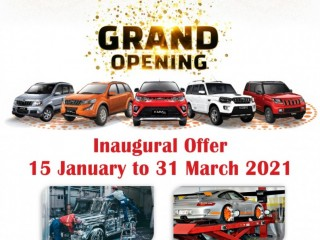 Jagannath Motors Jabalpur | Mahindra first choice Multi brand Car Workshop in Near Karmeta ITI Katangi Road Jabalpur