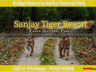 Best Resort in Kanha |guaranteed Hospitality Facilities in kanha | Luxury Hotel in Kanha | Sanjay Tiger Resort In Kanha National Park