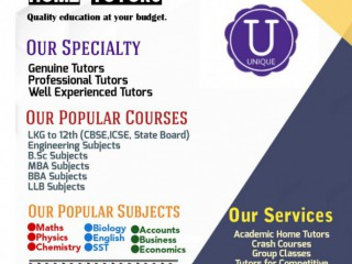 Best Home Tutors In jabalpur | Home Tuitions In jabalpur | Unique Home Tutors In Jabalpur